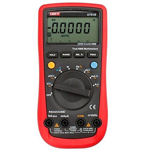 (GGGarden UNI-T UT61E Auto Range Digital Multimeter AC/DC Volt Amp Resistance Capacitance Frequency Duty Cycle Meter)