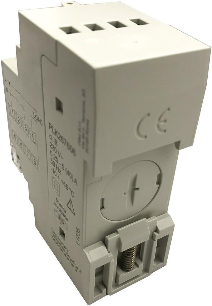 plikc PLK267606 - Contador digital de energía monofásico multibanda horaria Digit Plus: Amazon.es: Bricolaje y herramientas