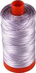 Aurifil Cotton Mako 50wt French Lilac Variegated Thread Large Spool 1421 yard MK50 3840
