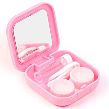 Back To Search Resultsapparel Accessories Strict Easy Carry Mini Mirror Contact Lens Travel Kit Case Storage Holder Container Box Men's Glasses