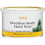 GiGi Brazilian Body Hard Wax for Sensitive Areas, 14 ounce