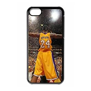wugdiy Brand New Phone Case for iPhone 5C with diy Kobe Bryant