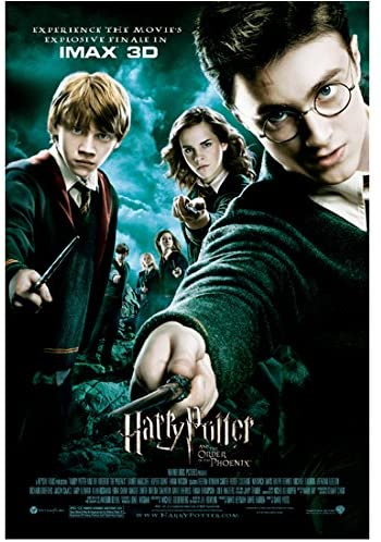 Harry Potter And The Order Of The Phoenix 2007 8 Inch X10 Inch Photo Cast Pointing Wands Photograph At Amazon S Entertainment Collectibles Store