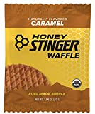 Honey Stinger Organic Waffle, Caramel, 1.06 Ounce (Pack of 16)