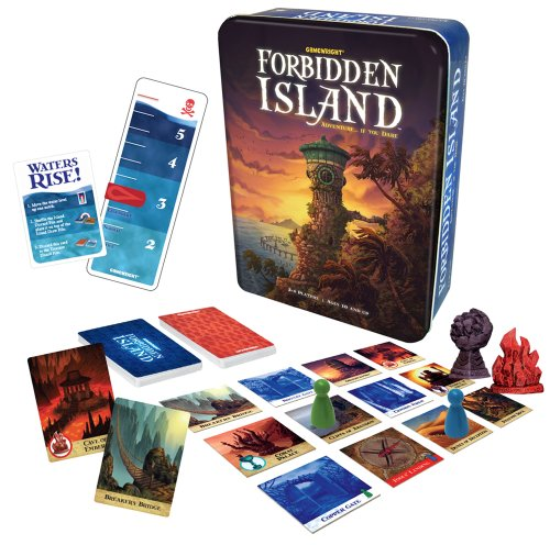Desert Winds Island - Gamewright Forbidden Island