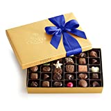 godiva chocolate - Godiva Chocolatier Assorted Chocolate Gold Gift Box, Royal Ribbon, 36 pc.