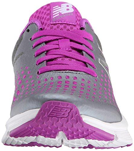 New Balance Womens W775V1 Neutral Running Shoe Silber / Pink