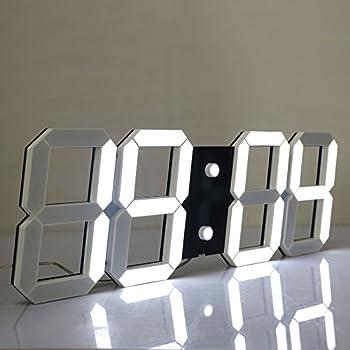 Amazoncom CHIHAI Silent Multifunctional Jumbo LED Digital Wall
