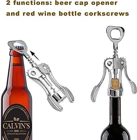 Sacacorchos de vino personalizable, llavero abrebotellas de cerveza, tornillo de corcho, abrebotellas de vino tinto premium, sacacorchos, sacacorchos y accesorios para quitar corchos