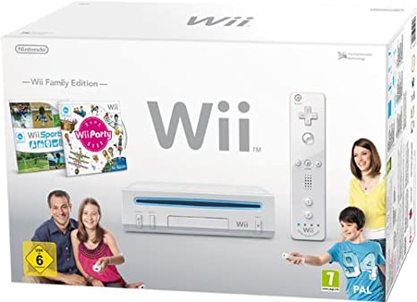 Wii Dimensioni Consolle.Nintendo Wii Console Wii Family Edition Bianca Wii