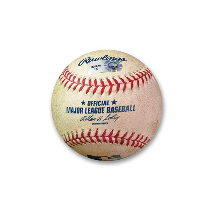 Adrian Gonzalez Game Used Baseball 6/27/13 Foul vs. Pettibone Dodgers EK325616 MLB Autographed Game Used Bases