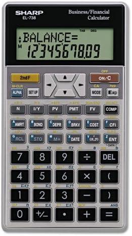 el738fb Sharp Amortization Finance Calculator