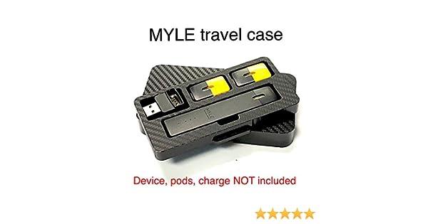 MYLE black travel case stand by Jwraps