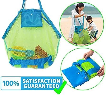 Bolsa de malla para la playa, bolsa de juguetes, organizador ...