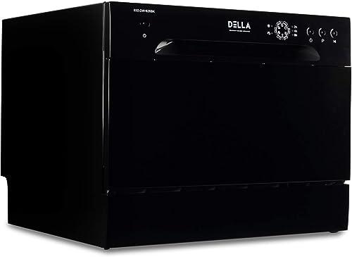 DELLA Portable Compact Countertop Dishwasher
