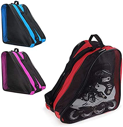 Thethan Ice Skate Roller Blading Carry Bag with Shoulder Strap for Kids Adults