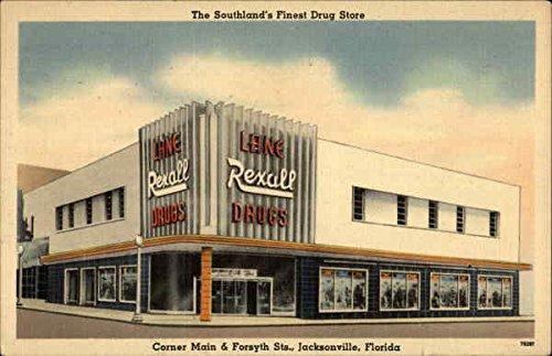 The Southland's Finest Drug Store Jacksonville, Florida Original Vintage - Southlands Stores