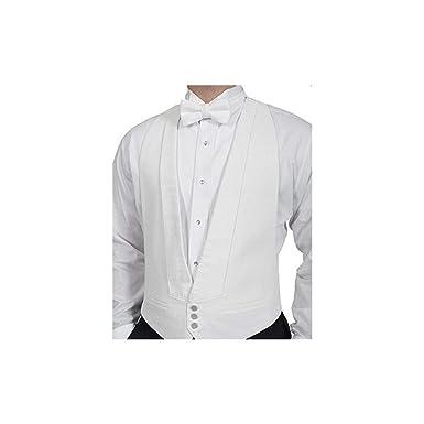 d2956745aa8b White Pique Vest with Pique Shirt & Pre-Tie Pique Bow Tie - Complete ...
