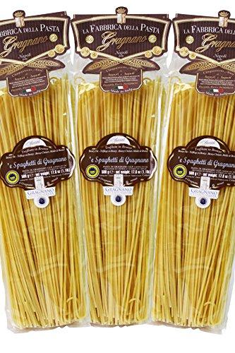 Original italienische Pasta Spaghetti di Gragnano IGP Angebot 3X500g
