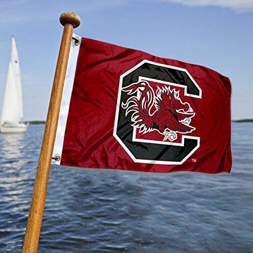 (University of South Carolina Golf Cart and Boat Flag )
