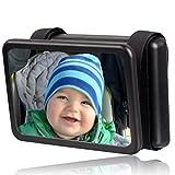 Wicked Chili Baby Spiegel Easy View - Rückspiegel für Babyschalen, drehbar, Spiegel Größe: 140 x...