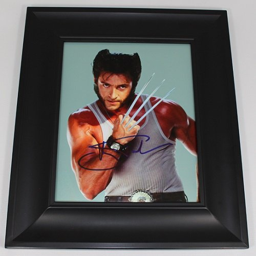 X-Men The Wolverine Logan Hugh Jackman Authentic Signed Autographed 8x10 Glossy Photo Gallery Framed - Sale In Shops For Australia