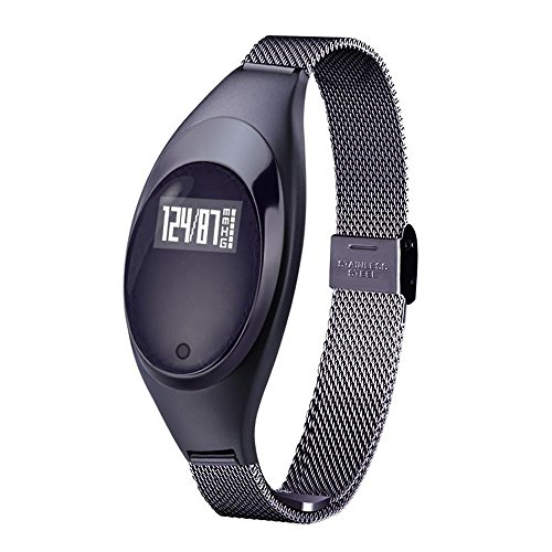 Kobwa 2017 Fitness Tracker Wristband, Heart Rate+ Blood P...