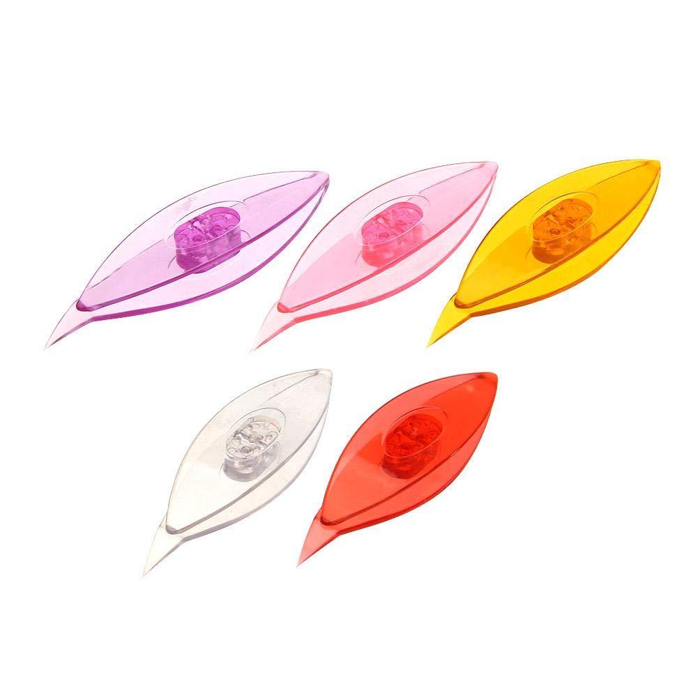 Demiawaking Bricolage Fait /à la Main Tatting Shuttle Tool Craft Lace Making Accessoires Frivolit/é 5pcs
