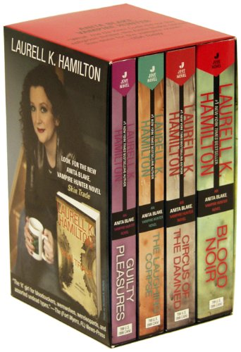 Anita Blake,Vampire Hunter Collection (volume 1-4) by Jove