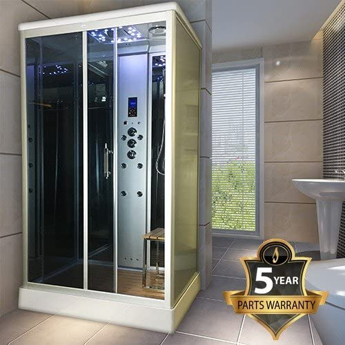 Insignia modelo ins9001 1100 x 890 cabina de ducha de vapor: Amazon.es: Bricolaje y herramientas