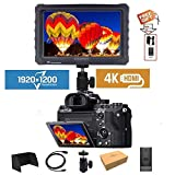 LILLIPUT A7S 7' 1920x1200 IPS Screen Camera Field Monitor 4K 1.4 HDMI Input output Video with Black Rubber Case Best Field Monitor buy from VIVITEQ (LILLIPUT USA OFFICIAL SELLER for full warranty)