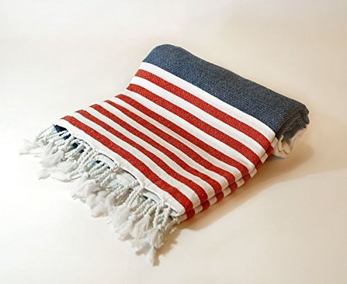 Beach Towel Natural Turkish Cotton