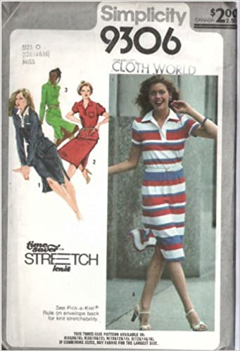 Simplicity 9306 Sewing Pattern for Polo Style Shirt or Dress and ...