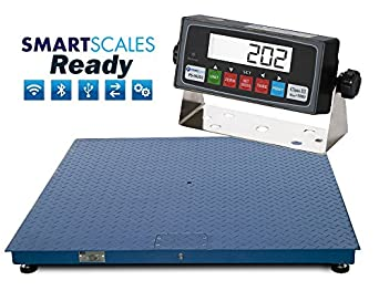 Floor scale pallet scale 5x5 10 000 lb 60 x 60 heavy for 10000 lb floor scale