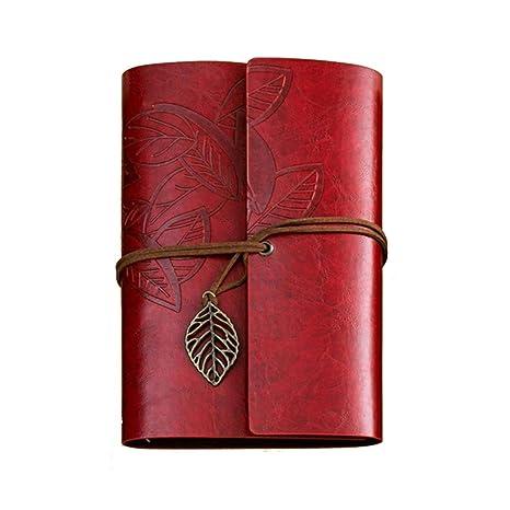 Amazon.com: Cuaderno de papel vintage con diseño de ...