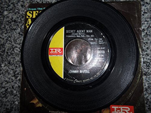 Johnny Rivers - Johnny Rivers Picture Sleeve Secret Agent Man / You Dig 45 Rpm - Zortam Music