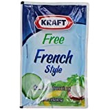 Kraft French Dressing, Fat Free, 1.5-Ounce Pouches (Pack of 60) by Kraft Brand Dressing