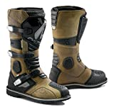 Cheap FORMA Terra Enduro Off-Road Motorcycle Boots (Brown, Size 13 US/Size 47 Euro)