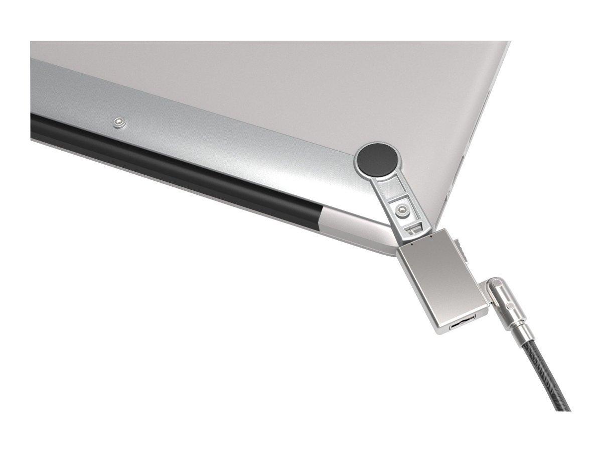 Maclocks Lock Bracket - Candado de seguridad para ordenador portátil, gris: Compulocks: Amazon.es: Informática