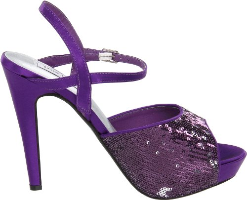 Bev Platform Touch Ups Sequins Women's Purple fnnPEZ