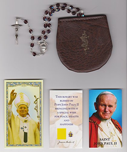 Rosary Papal Crucifix - 2
