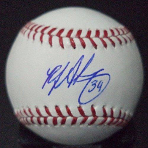 rj-alvarez-san-diego-padres-signed-autographed-romlb-baseball-w-coa