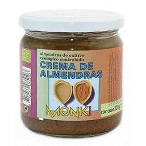 Crema Almendras Tostada Bio 330 Gr de Monki: Amazon.es: Salud y cuidado personal
