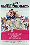 Follow That Dream (1962) Original One Sheet Poster (27x41) Folded ELVIS PRESLEY Film Directed by GORDON DOUGLAS