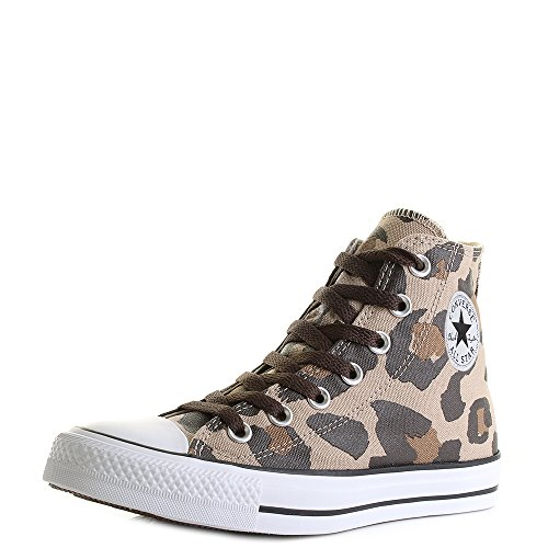 Converse - Converse Hi Vintage Khaki/Dark Ctas Chocolat Chuck TaylorChucks Schuhe Herren Damen Größe 39 (UK 6)