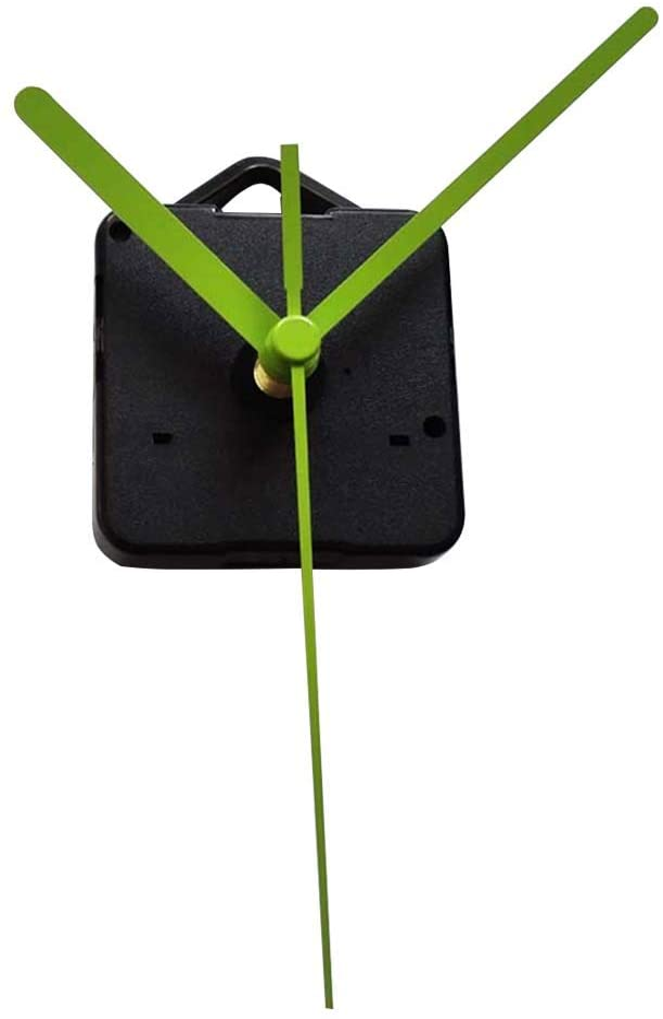 XGao Quartz DIY Wall Clock 2pc Movement Mechanisms Battery Powered DIY Repair Parts Wall Clocks Replacement with 2 Long Hands 5 Inch Maximum Hand Length