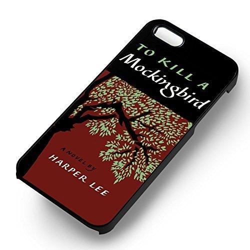 To Kill A Mockingbird pour Coque Iphone 6 et Coque Iphone 6s Case (Noir Boîtier en plastique dur) J2Q5GX