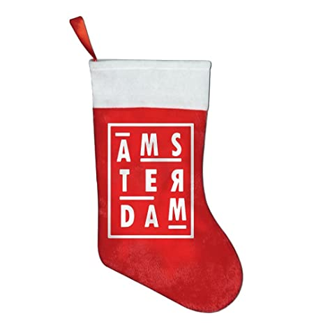 goodsky christmas stockings for adult and kids amsterdam christmas stocking christmas gifts for adult or children - Amazon Christmas Stockings