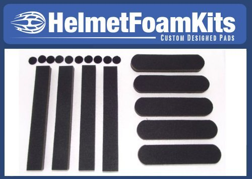 Helmet Motorcycle Pads - Replacement Foam Helmet Pads Universal Kit Bicycle Cycling Skating