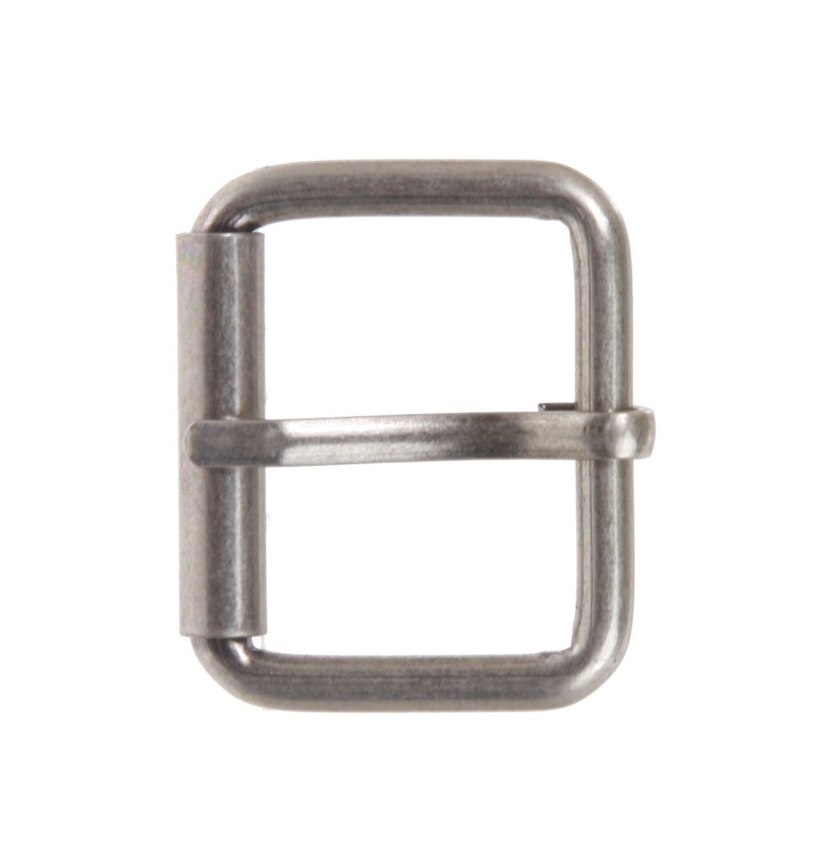 Nickel Free Single Prong Roller Belt Buckle 1 1//8 Antique Silver 30 mm